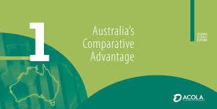 Australia's Comparative Advantage ...