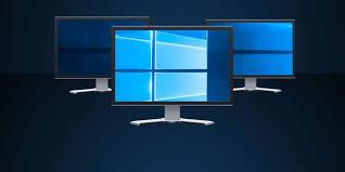 multiple displays in windows 10