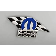 Amazon Com Mopar Chrome Plated Performance Badge 82214234 Automotive