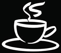 Amazon Com Coffee Drink Caffeine Cup Car Truck Window Bumper Vinyl Graphic Decal Sticker 6 Inch 15 Cm Wide Gloss Black Color Automotive