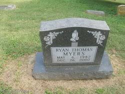 Ryan Thomas Myers (1982-2002) - Find A Grave Memorial