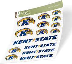 Amazon Com Kent State University Ksu Golden Flashes Ncaa Sticker Vinyl Decal Laptop Water Bottle Car Scrapbook Type 1 Sheet Arts Crafts Sewing
