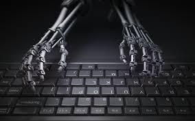 تحميل خلفيات اليدين على لوحة المفاتيح 4k الهيكل الخارجي الظلام