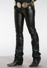 stetson womens lamb skin leather pants