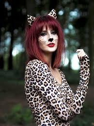 leopard makeup tutorial halloween