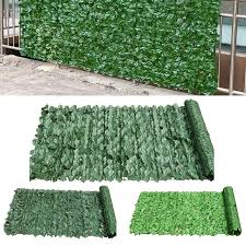 Hot Discount D039c 2pcs 25x50cm Artificial Privacy Fence Screen Faux Ivy Leaf Screening Hedge For Outdoor Indoor Decor Garden Patio Decoration Cicig Co