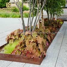 China Flower Planter Fence Decorative Corten Steel Plate Kh Ct 02 China Plant Pot Planter