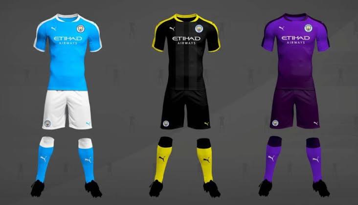 Image result for Manchester City kit deal