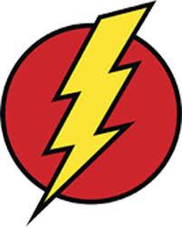 Amazon Com Comic Lighting Bolt Flash Cartoon Icon Vinyl Decal Sticker 4 Tall Arts Crafts Sewing