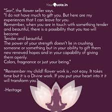 son the flower seller quotes writings by meraki and love