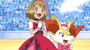 Pokemon XYZ Fake Scene - Serena in PKMN Contest by Aquamimi123 on ...