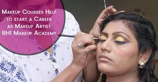 career as a makeup artist