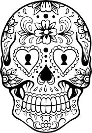 Sugar Skull Google Zoeken Kleurplaten Kunsttechnieken Kleurboek