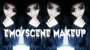 emo scene makeup tutorial you