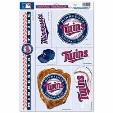 Minnesota Twins Stickers Decals Bumper Stickers