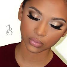 natural bridal makeup dark skin