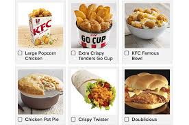 kfc item with the most calories