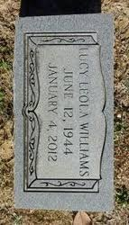Lucy Leola Williams (1944-2012) - Find A Grave Memorial