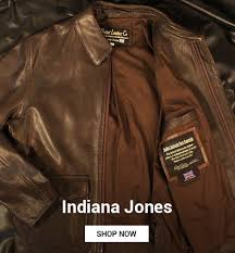 indiana jones more leather jackets