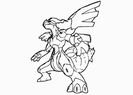 Free Coloring Pages And Coloring Books For Kids Zekrom Pokemon