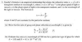 formula is an empirical relationship