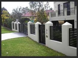 Pictures Of Gates By Auto Gates And Fencing House Fence Design House Gate Design Modern Fence Design