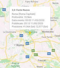 Scossa di terremoto oggi a Roma - Terzo Binario News
