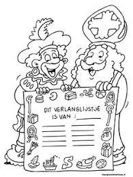 De 5 Beste Afbeeldingen Van Kleurplaten Sinterklaas Sinterklaas