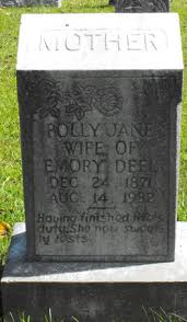 """Mary Jane """"Polly"""" Owens Deel Blankenship (1871-1932) - Find A Grave Memorial"""