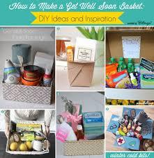 get well soon baskets diy ideas