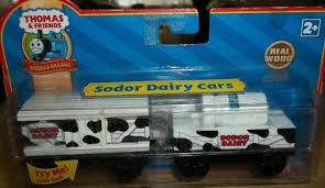 sodor dairy cars train thomas and