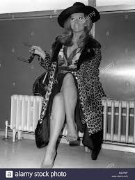 Ingrid Pitt arriving at Heathrow airport from Rome where she has had Stock  Photo - Alamy