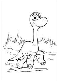 Kleurplaten Good Dinosaur Dino Kleurplaten