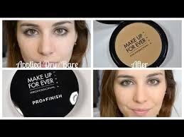 make up for ever pro finish foundation