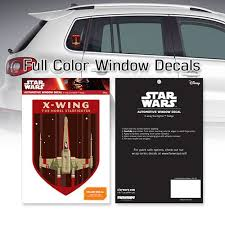 Star Wars X Wing Starfighter Badge Window Decal Entertainment Earth
