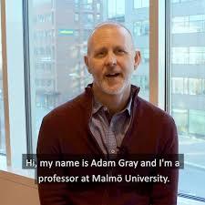 Malmö University - 🎬 Teacher profiles | Adam Gray | Facebook