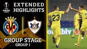 Extended Highlights: Qarabag vs Villarreal - CBSSports.com