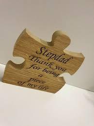 fathers day gift grandad oak veneer