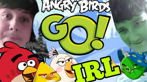 ANGRY BIRDS GO IN REAL LIFE - YouTube