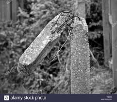 Concrete Fence Post High Resolution Stock Photography And Images Alamy