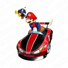 Super Mario Car Bomb Video Game T Shirt Iron On Transfer Decal Vgsm19 Your One Stop Iron On Transfer Decal Super Shop Eironons Com