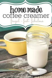 homemade coffee creamer recipe eating
