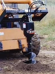 make skid steer augers perform