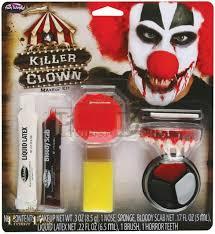 mens scary clown makeup