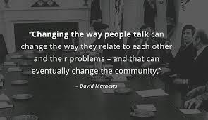 we re hiring david mathews center for civic life