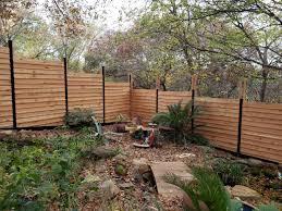Horizontal Wood Fence Designs Austin Fence Builders