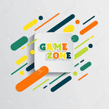 Kids Zone Entertainment Banner Colorful Letters For Children S Royalty Free Cliparts Vectors And Stock Illustration Image 153438115