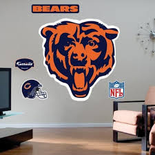 Chicago Bears Wall Signs Framed Art Street Signs Official Bears Store