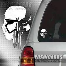 Star Wars First Order Stormtrooper Punisher Inspired Car Etsy