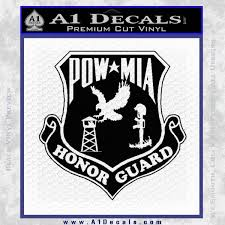 Pow Mia Honor Guard Decal Sticker A1 Decals
